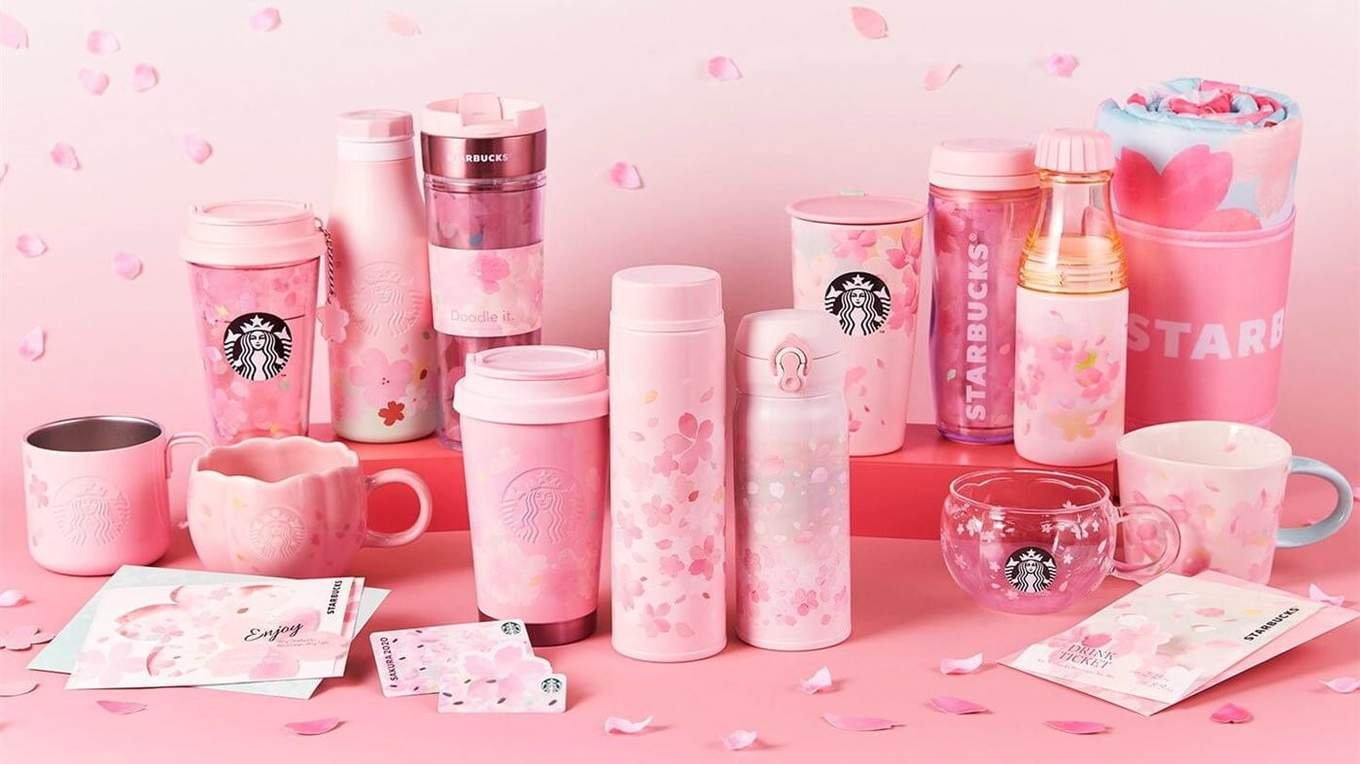 2020 STARBUCKS JAPAN Sakura Reusable 1 Cup Cherry Blossoms Limited 11 from JAPAN