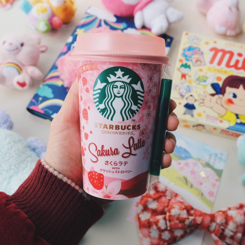 Starbucks Sakura Latte