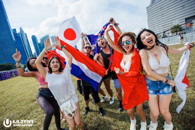International crowd at ULTRA Singapore 2017