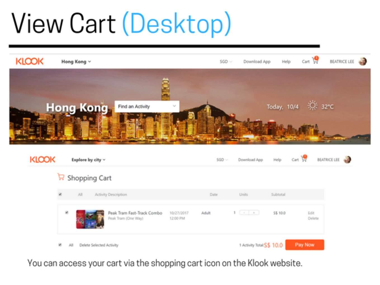 eoy view cart desktop