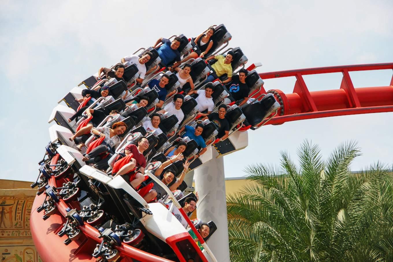 Battlestar Galactica Ride at Universal Studios Singapore