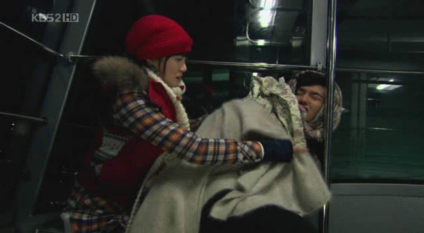 Cable car scene from Boys over Flowers