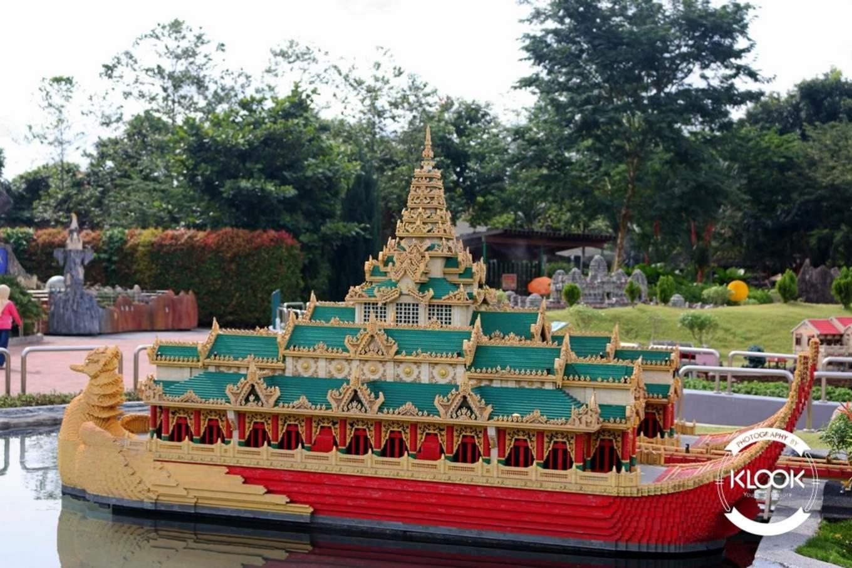 Thailand area at Miniland