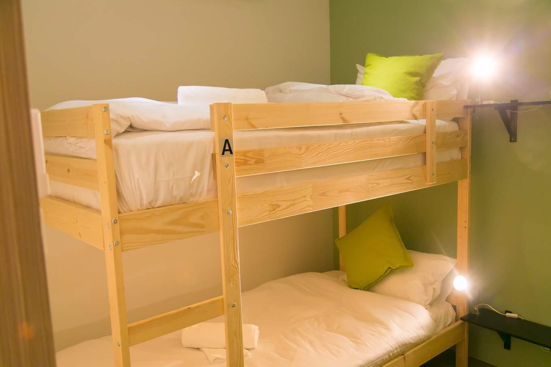 folk poshtel dormitory bunk beds