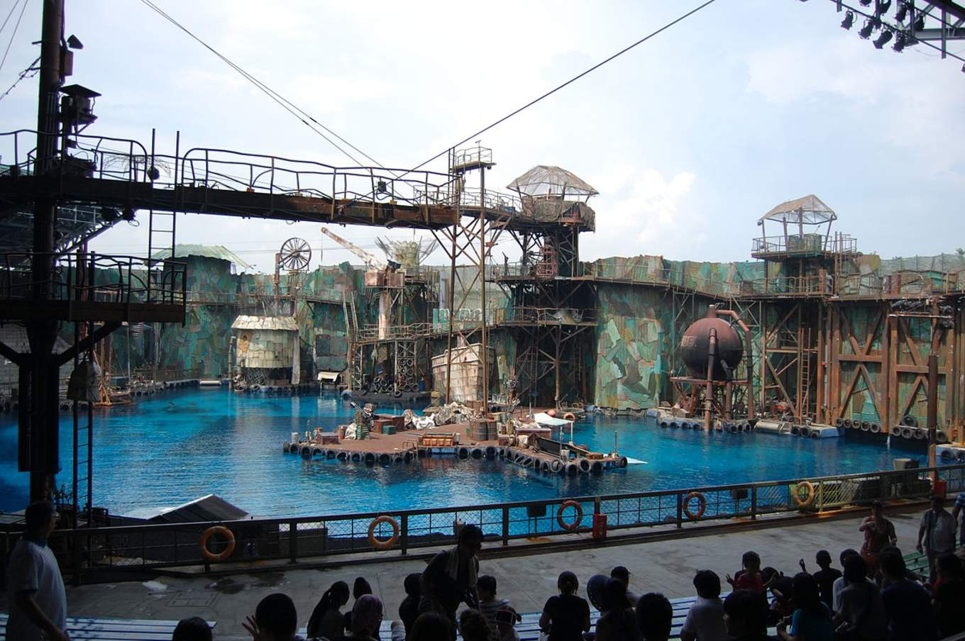 The Lost World Attraction at Universal Studios Singapore