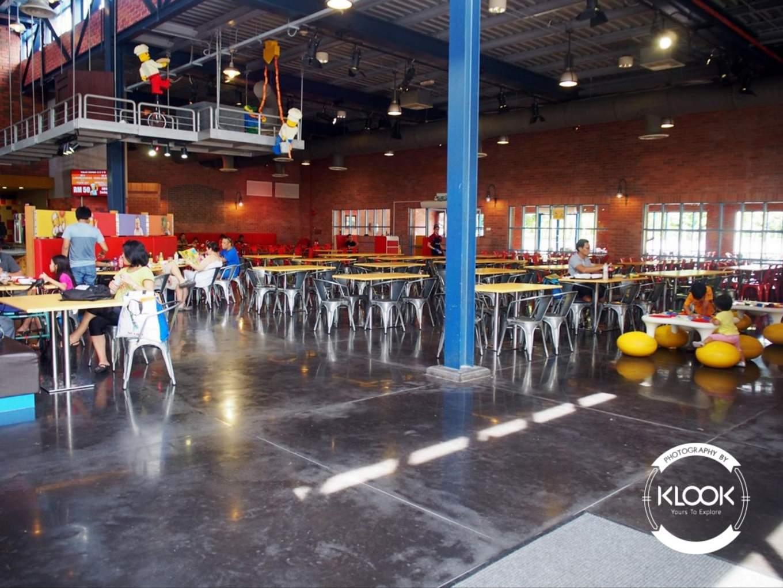 Market Restaurant Interior