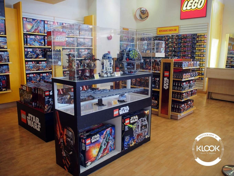 Lego Merchandise at The BIG Shop