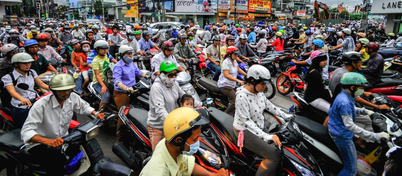 Scootering in Vietnam
