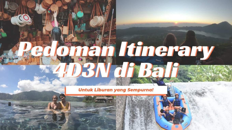 Panduan Itinerary Liburan 4 Hari 3 Malam Di Bali Klook Blog