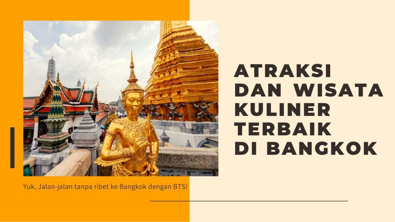 Bangkok Top Attractions and Foods blog cover 1