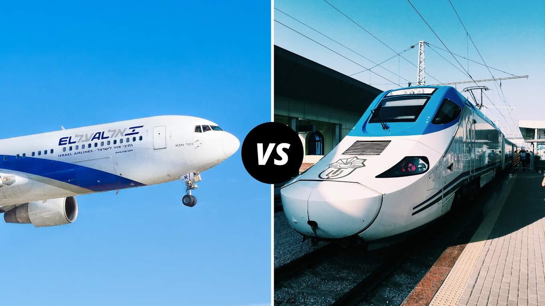 Kereta vs Pesawat