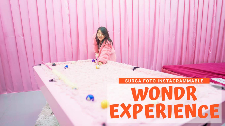 WONDR EXPERIENCE COVER
