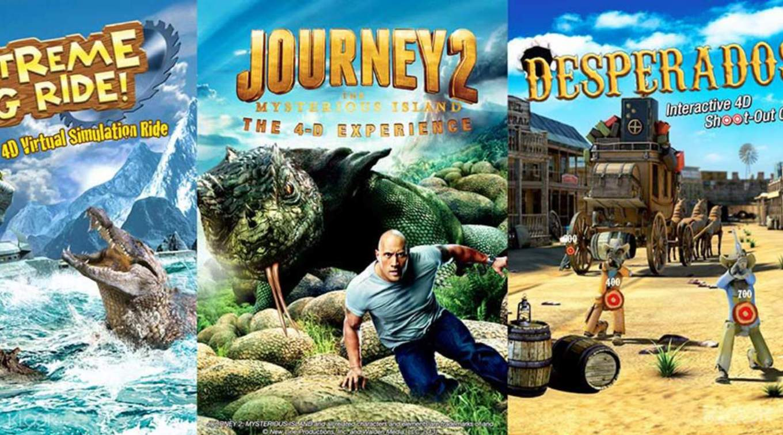 刺激好玩的4D探險樂園,絕對不能錯過。