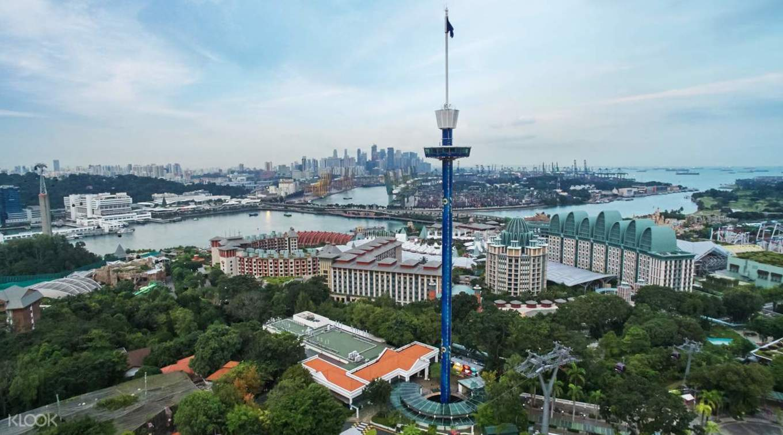 新加坡與鄰國美景,盡收眼底。