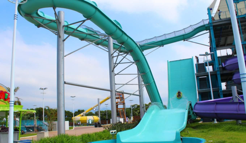 海神飛艇,圖片來自六福村水樂園官網。