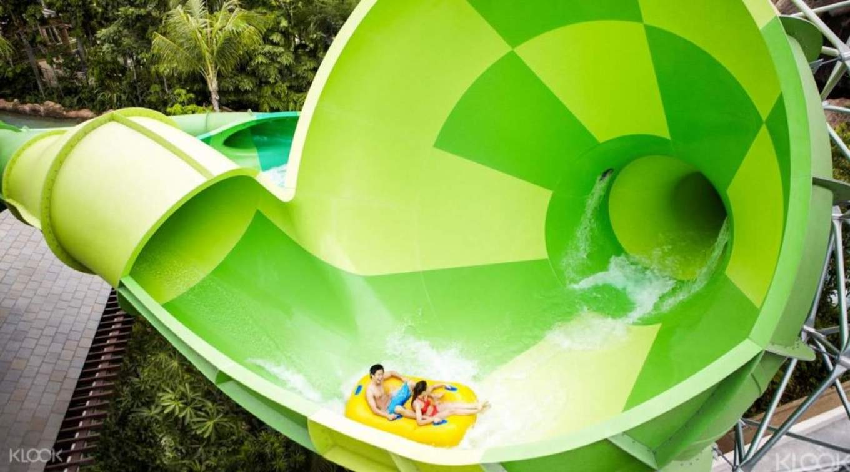 新加坡聖淘沙水上探險樂園,體驗各式刺激水上設施