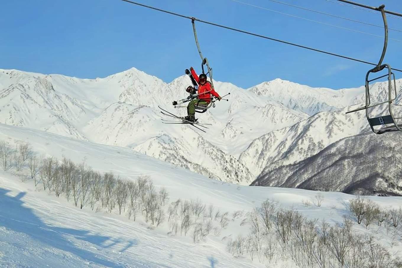 八方尾根滑雪場,圖片取自白馬八方尾根FB粉絲團。