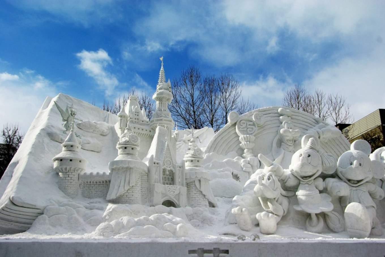 札幌雪祭,圖片取自baupauboo.exblog.jp。