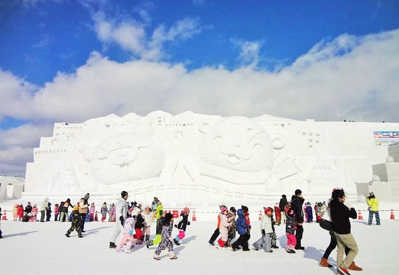 旭川冬季祭典,圖片取自www.tabirai.net。