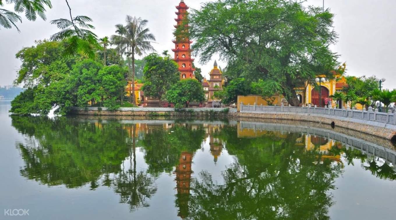 河內最古老的佛寺——鎮國寺