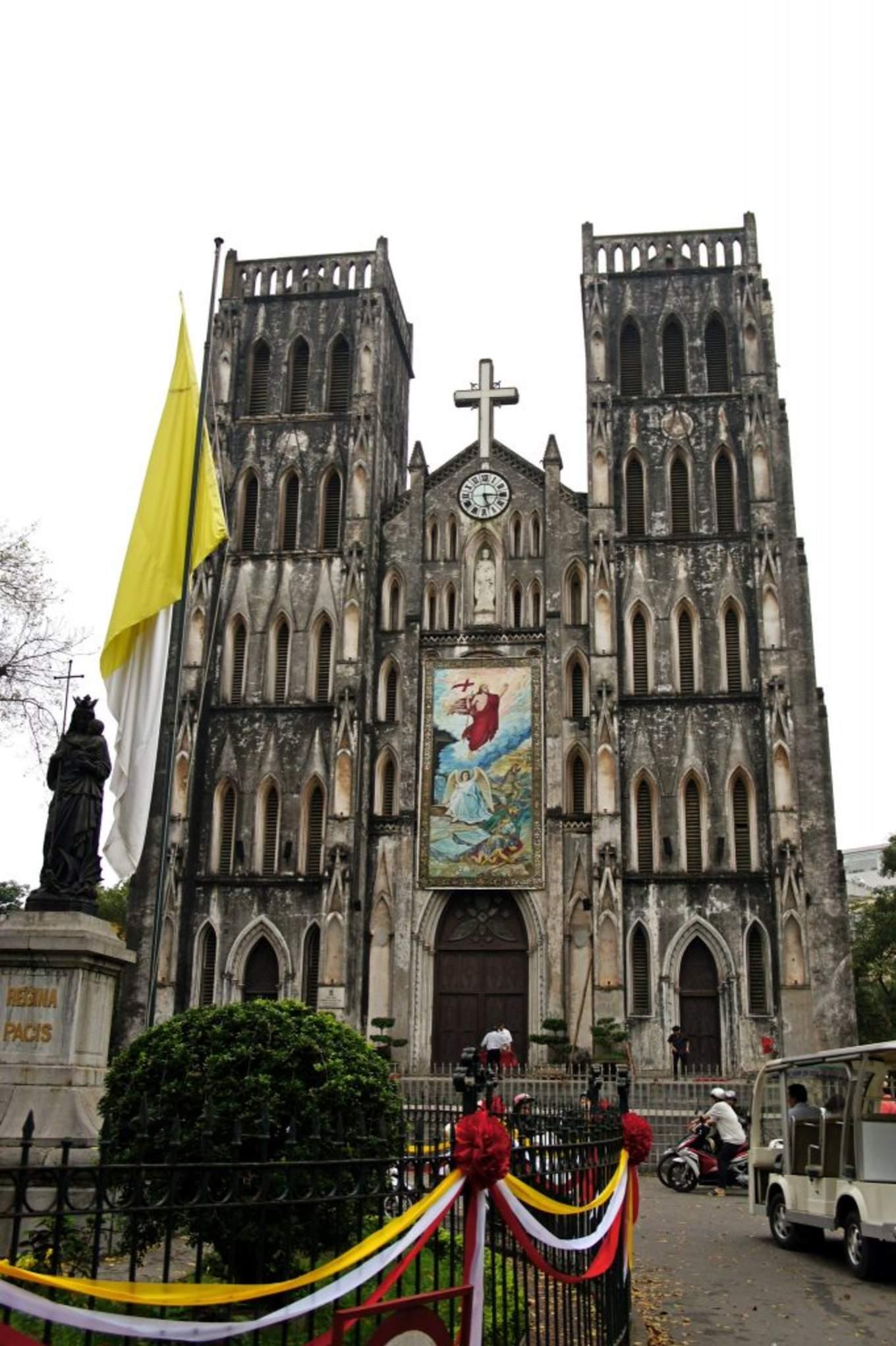 聖約瑟夫大教堂(河內大教堂) 來源:flickr@錫羅