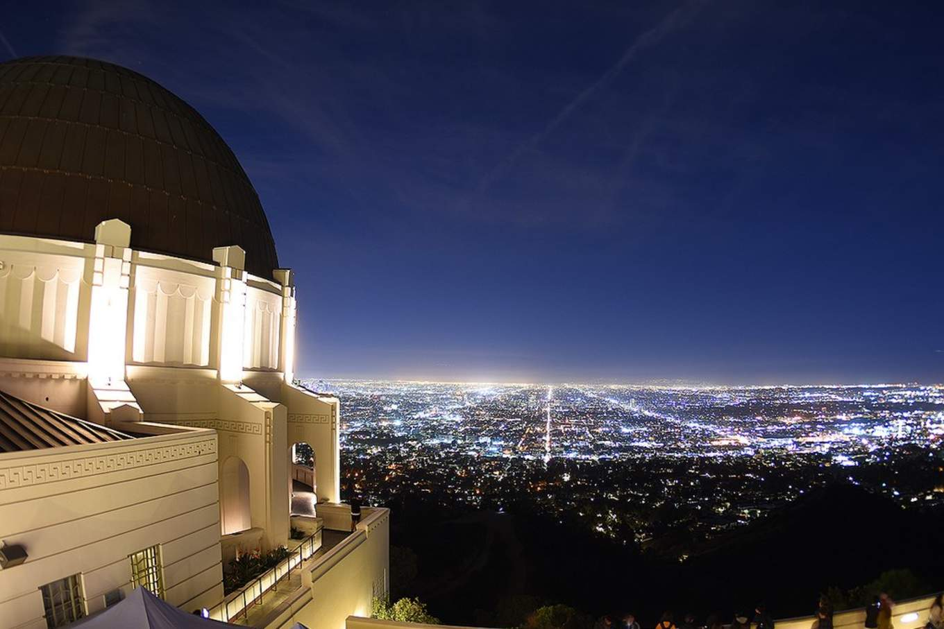 1024px Griffith Observatory by Gustavo Gerdel