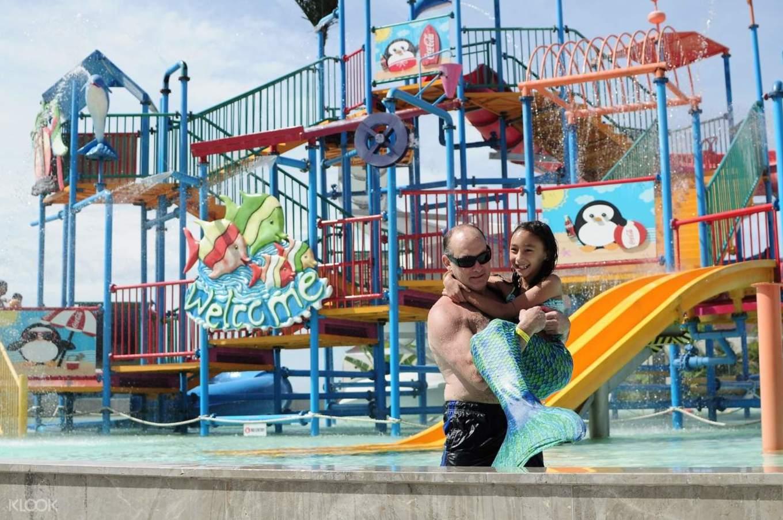 宿雾SkyWaterpark水上樂園,照片來自KLOOK官網