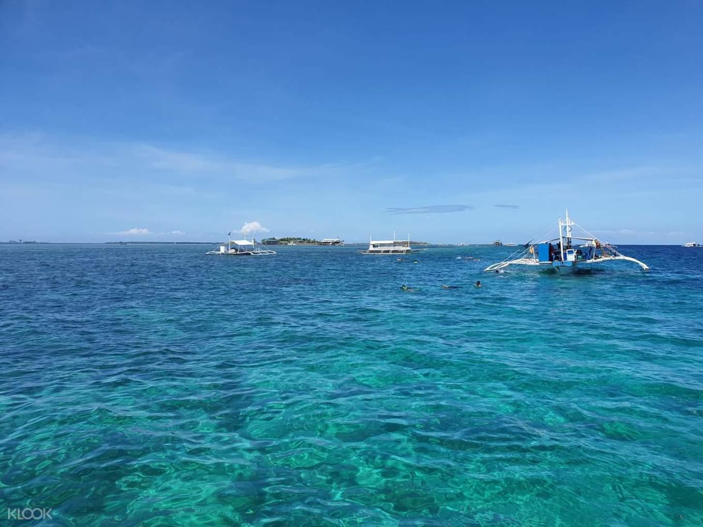 麥可坦小島海上美景,照片來源KLOOK官網