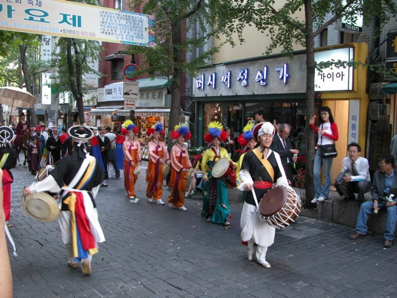 Korea Seoul Insadong Parade 01