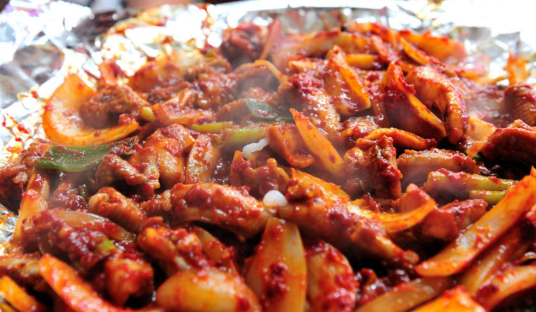 釜山必吃的美食烤盲鰻