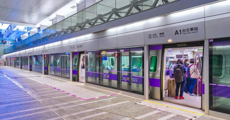 sử dụng MRT là một bí kíp du lịch đài loan