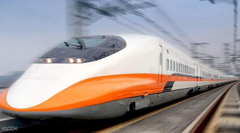 sử dụng tàu cao tốc là một bí kíp du lịch đài loan