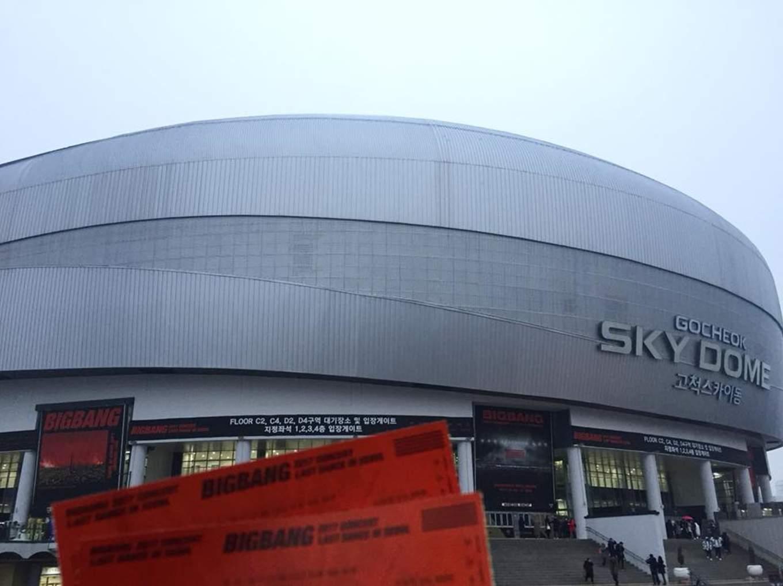 xem concert tại skydome khi đi du lịch seoul