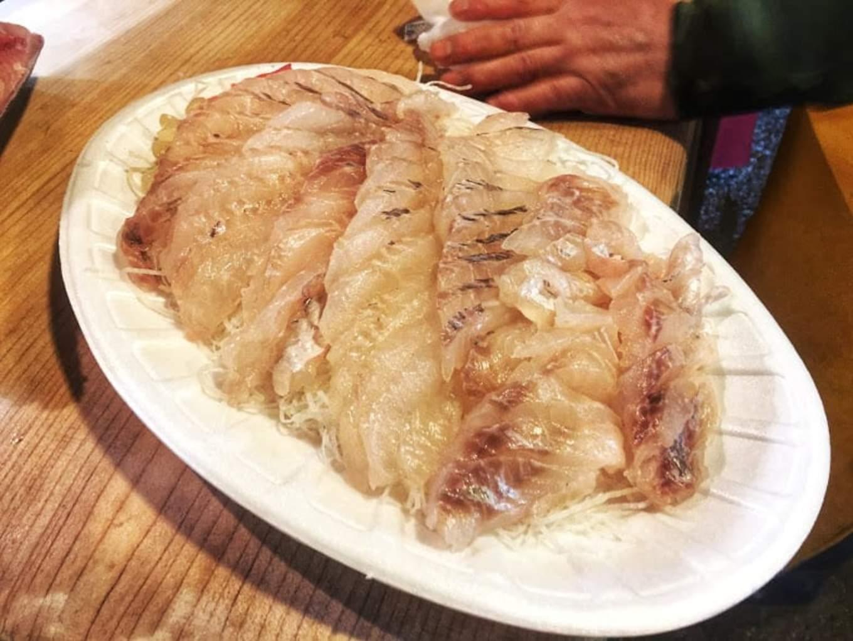 sashimi là một món ngon trong ẩm thực seoul