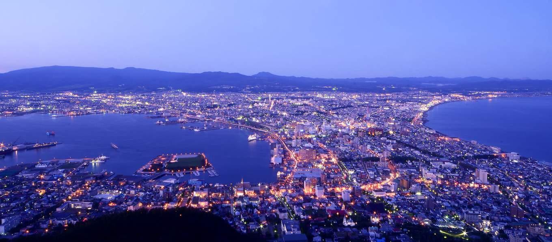 toàn cảnh Hakodate trong lịch trình du lịch sapporo bằng JR Pass