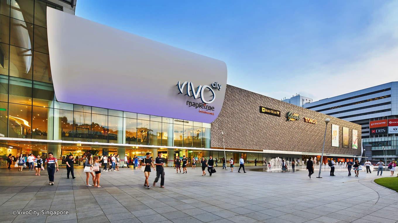 mua sắm tại Vivo city trong lịch trình du lịch singapore - malaysia cho gia đình
