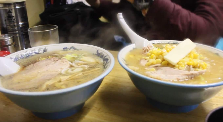 ramen làm một trong những món ngon nhất của nền ẩm thực hokkaido