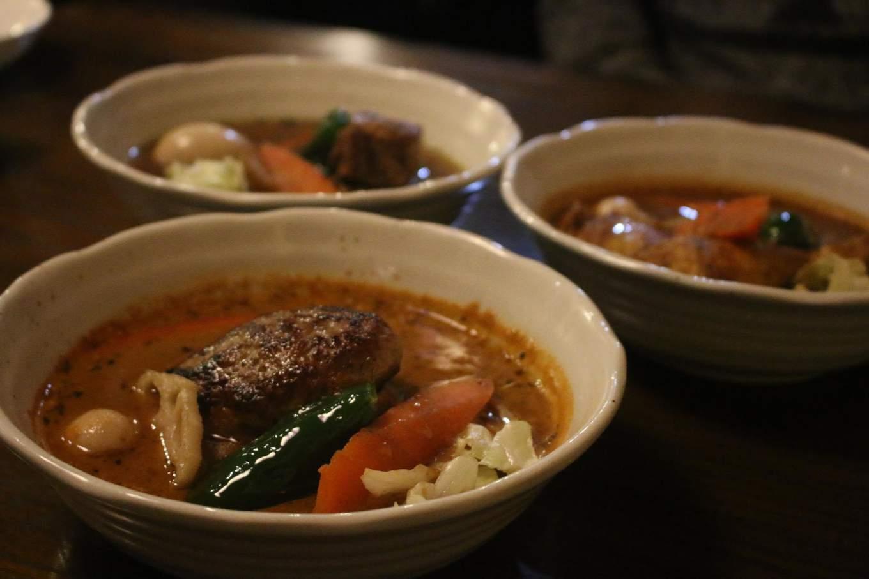 súp cà ri là một món ẩm thực hokkaido phải thử