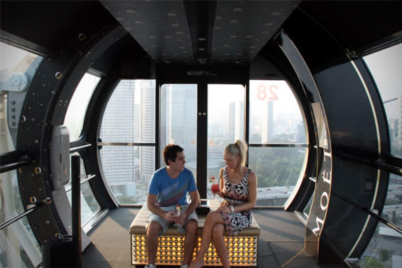 lịch trình đi singapore 4 ngày 3 đêm cho các cặp đôi: singapore flyer