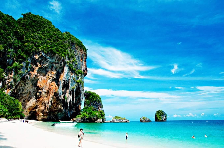Phra Nang Beach là một bãi biển đông nam á rất đẹp