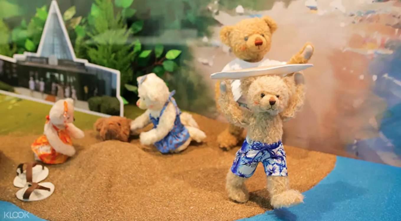 địa điểm tham quan ở đảo jeju: bảo tàng gấu teddy