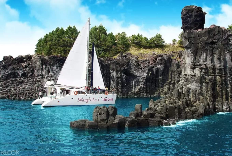 địa điểm tham quan ở đảo jeju: jusangjeolli cliff