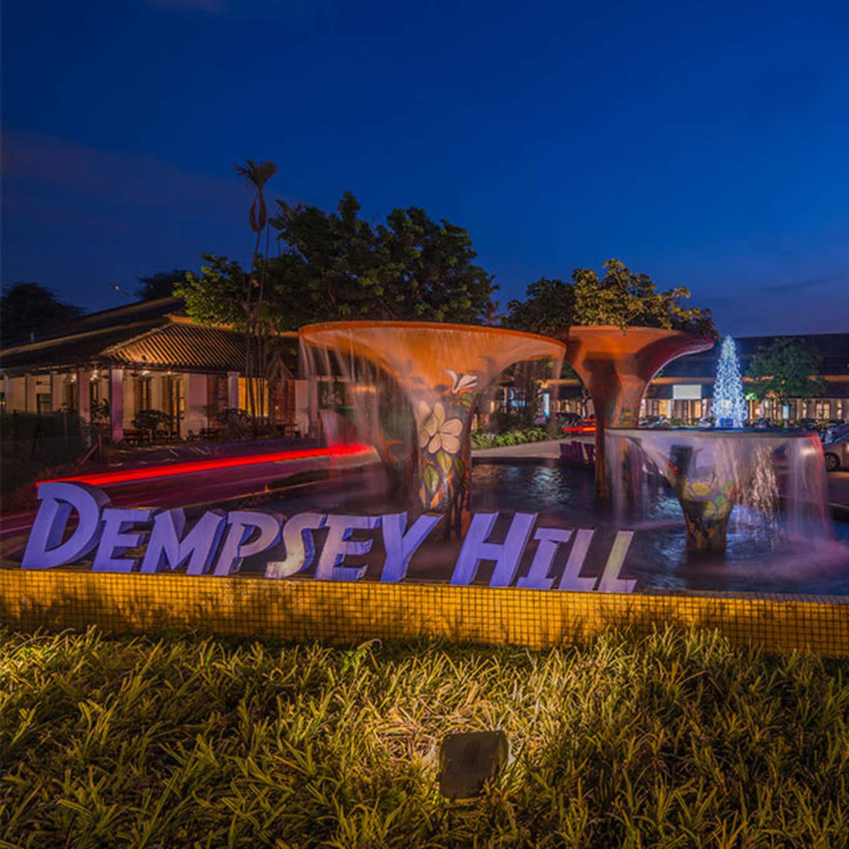 dempsey hill về đêm