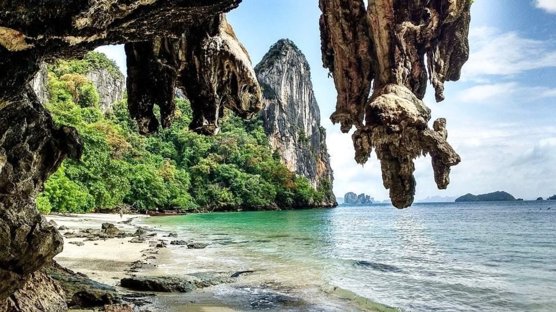 hang đá tại koh yao