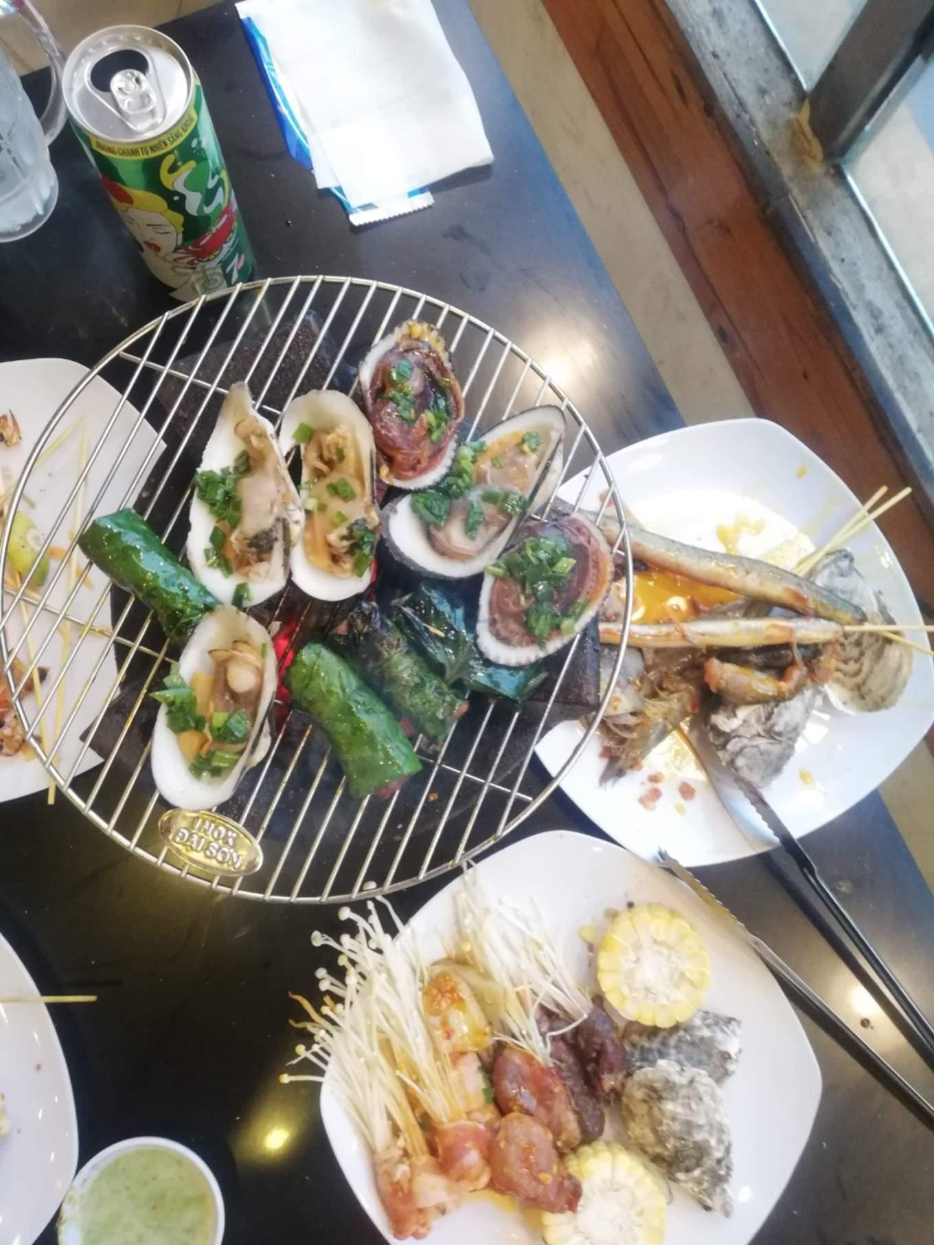 buffet nướng đà lạt
