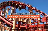 Rides and Attractions You Can't Miss at Six Flags Discovery Kingdom!
