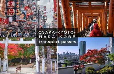 Travelling Around Osaka, Kyoto, Nara And Kobe – Which JR Pass Or Travel Pass To Get?