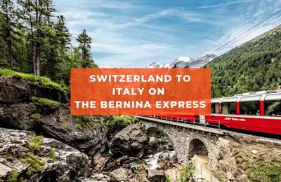Travel By Train From Switzerland To Italy On The Bernina Express, Panoramic Views Included