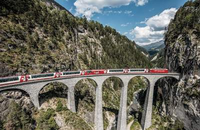 All Aboard The Glacier Express – Switzerland's Most Luxurious Scenic Train Ride