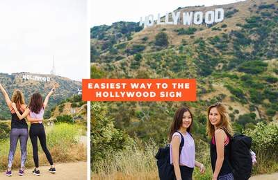 Getting To The Hollywood Sign In The Fastest, Most Fuss-Free Way